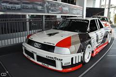 Audi 90 Quattro IMSA-GTO (Chris Droesch) Tags: canon eos forum gto 1989 audi 90 quattro 2014 ingolstadt imsa stck 40d rohrl