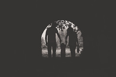 Family silhouette (~jessS~) Tags: family blackandwhite suffolk photographer sudbury framing outline essex nikond7100