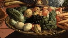 Pieter Aertsen (1507-1508-75) (Decoupage girl) Tags: fruit lemon grape