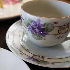 high tea (AS500) Tags: china west flower cup hotel high tea sydney inner balmain rozelle riverview birchgrove