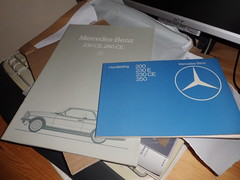 Owners manual and sales brochure 230CE (BP-83) Tags: dutch mercedesbenz manual sales brochure 230 ce w123 owners 230ce