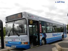 WX06OMU (jeff.day48) Tags: pointer dart 46 adl slf southgloucestershire expressyourself 42962 wx06omu firstbristolavon yatebusstation firstwestofengland
