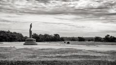 (hadewijch) Tags: blackandwhite bw sculpture art netherlands statue blackwhite europe fineart nederland statuary artistry gelderland hogeveluwe nationaalparkhogeveluwe 18200mmf3556 nikond90
