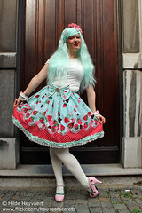 Daisy (House Of Secrets Incorporated) Tags: belgium belgië lolita daisy antwerp egl antwerpen bodyline jfashion sweetlolita lolitea jfashionmeet