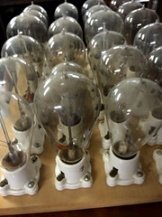 Not the brightest bulb in the drawer (kohane) Tags: music analog tubes collection electronics athey cathode
