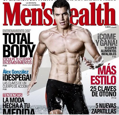 Álex González portada de Men's Health