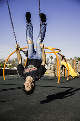 I suddenly see the world differently now! (SW23CT (CamsDigitalCanvas.com)) Tags: california boy portrait man playground fun weird crazy play upsidedown action swing socal acrobatics swingset swinging cody ventura cdc portrai stopaction 2014 backflip camsdigitalcanvas