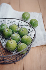 Greengage (Jet & Indigo) Tags: fruit foodphotography greengage foodstyling