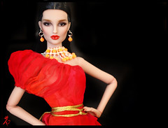 Red blooded Brighton (kingdomdoll) Tags: beauty brighton kingdom resin resinfashiondoll kingdomdoll kingdomdollbrighton