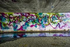 Osker Jenga (Eduardo Soriano-Castillo) Tags: graffiti bayarea jenga osker bayareagraffiti graffititunnels