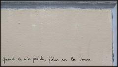 crire (YOUGUIE) Tags: streetart paris message murs crire