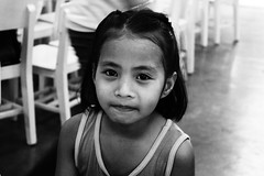Little One (lyka.cali) Tags: blackandwhite girl photography kid day dental medical mission care 2014