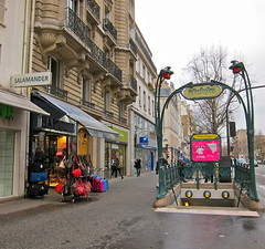 This is Paris (Anna Sikorskiy) Tags: street city winter paris france shop europe day cityscape metro streetphotography explore