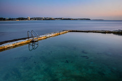 So Clear (James Vodicka) Tags: ocean blue beach water pool long exposure manly sydney australia clear fairy beaches northern bower