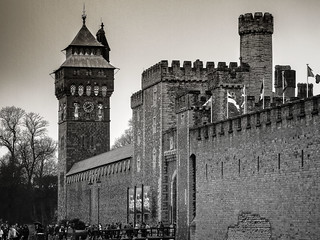 Cardiff Castle Norman Tower