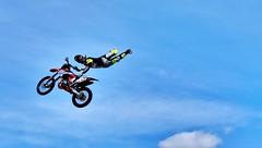 Volare (ioriogiovanni10) Tags: 2017 spettacolo salto volare coolpix nikon honda ktm roma motodays