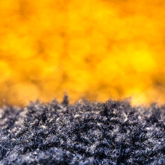 Cloth/Textile - Macro Mondays! (Benny aka WortLichtMaler) Tags: jacket blue yellow intense color colorful farbig bunt macro mondays hmm monday close up dof colored colour colourful