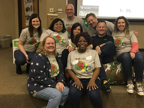 EdCampOKC 2017 Organizers by Wesley Fryer, on Flickr