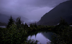 Purple Rain (Pete Foley) Tags: alaska glacier purplerain mountains purple landscape reflections littlestories picswithsoul