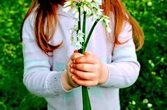The best times are outside. nr. Sligo, Ireland (Chasing Team Charolude) Tags: kid garden mud flower fun outside spring sligo ireland kids messy bokeh