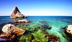 La Vela different POV (Daniele Torreggiani) Tags: mare sea rocks riviera conero portonovo marche ancona spiaggia beach