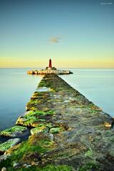 Dawn in the lighthouse (Explore 3-4-2017) (jaume vaello) Tags: lavila villajoyosa faros farosdealicante alicante lighthouse nikon nikond7200 sigma1020 leefilters leend09 kenko kenkond400 manfroto jaumevaello largaexposición longexposure verde green