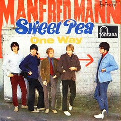 Manfred Mann - Sweet Pea - D - 1967 (Affendaddy) Tags: vinylsingle manfredman sweetpea oneway philips fontana 267716tf germany 1967 british1960sfolkbeat collectionklaushiltscher