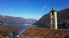 Lake Como (Sghirat) Tags: chiesa sanvittore brienno lagodicomo comolake lago como