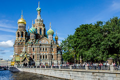 Savior on the Spilled Blood (Quentin K) Tags: russia travel church savior spilled blood saint petersburg