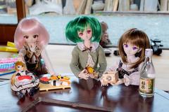妖精さんお寿司奪う (MebiusDoll) Tags: dollfiedream dollfiedreamsister minidollfiedream dd dds mdd