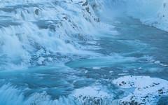 Gullfoss (Greg Whitton Photography) Tags: frozen ice iceland landscape snow sony winter a7rii gullfoss waterfall power spray water hvita