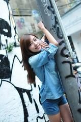 Yibi0037 (Mike (JPG直出~ 這就是我的忍道XD)) Tags: yibi 西門町 d300 model beauty 外拍 portrait 2013 fifi