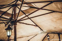 Umbrella (tomaszsobczyk) Tags: cefalu italy sicily balcony beach city holiday island landscape mountains nature ocean restaurant sea seaside street tree view viewpoint