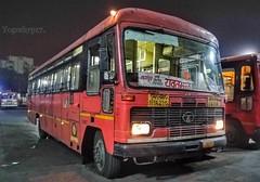 Nagpur - Yavatmal (yogeshyp) Tags: msrtc maharashtrastatetransport msrtcparivartanbus nagpuryavatmalstbus nagpur2depotbus