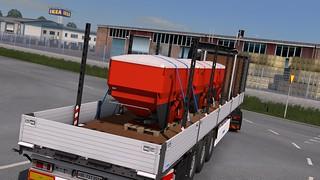 Scania R580 + Krone Profi Liner Multi Steel SDP 27 V2