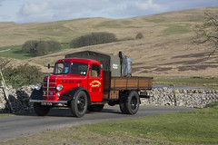 205 YUV  1949  Bedford M Type  G Bourne  Road Run (wheelsnwings2007/Mike) Tags: 205 yuv 1949 bedford m type g bourne road run 19th kirkby stephen brough classic commercial rally cumbria