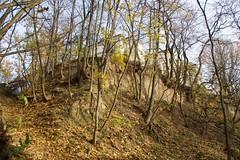 Wąwóz Królowej Jadwigi w Sandomierzu jesienią # 6