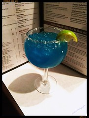 RazzaRita (PhotoJester40) Tags: indoors inside food drink menu bluedrink alcohol razzarita riograndsteakhousetavern limeslice amdphotographer