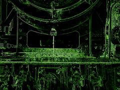 131.060 - Kunst 3 (Painting - Malen - Zeichnen) Tags: 131060 dampflok rumänischedampflok kunst künstlerischeveränderung bildbearbeitung farben wärmebild bleistift neon sepia 3fachhdr hdr