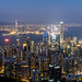 Hong Kong, night