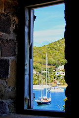 View from a window (robin denton) Tags: antigua caribbean caribe leewardislands englishharbour harbour harbor hdr yacht window view