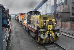 Another load of hot metal. (Dave McDigital) Tags: applebyfrodingham industrialrailway industriallocomotive scunthorpe steelworks britishsteel hunslet