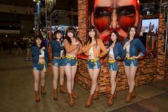 CAPCOM -Japan Amusement EXPO (JAEPO) 2017 (Makuhari, Chiba, Japan) (t-mizo) Tags: sigma2435mmf2dghsmart sigma sigma2435f2 sigma24352 sigma2435mm sigma2435mmf2 sigma2435mmf2dg sigma2435mmf2dgart sigma2435mmf2art art ジャパンアミューズメントエキスポ2017 jaepo jaepo2017 japanamusementexpo japanamusementexpo2016 千葉 chiba makuhari 幕張 美浜区 mihama 幕張メッセ makuharimesse 展示会 日本 japan event イベント person ポートレート portrait people women woman girl girls cosplay コスプレ レイヤー cosplayer コスプレイヤー キャンペーンガール キャンギャル campaigngirl showgirl コンパニオン companion capcom カプコン canon canon5d canon5d3 5dmarkiiii 5dmark3 eos5dmarkiii eos5dmark3 eos5d3 5d3 lr lr6 lightroom6 lightroom lrcc lightroomcc