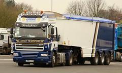 IMG_5039DAF CF 6x2 Lodge Transport YN16AVD Frank Hilton (Frank Hilton.) Tags: classic truck lorry eight wheel maudsley aec atkinson albion leyalnd bristol austin outside heavy haulage crane 8 axle