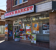 Jack's Market (uptownguydenver) Tags: denver colorado denverbuildings architecture architectural structures building edifice edifices commercialbuilding skyscraper environment ecology ecosystem environmentalism scenery captureone nikon storefronts colfaxave usa