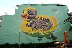 streetart and graffiti in bangkok (wojofoto) Tags: bangkok thailand streetart graffiti wojofoto wolfgangjosten mural nychos