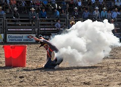 P3110116 (David W. Burrows) Tags: cowboys cowgirls horses cattle bullriding saddlebronc cowboy boots ranch florida ranching children girls boys hats clown bullfighters bullfighting