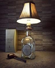 Cardhu Gold Reserve whisky bottle lamp (Wattbottles) Tags: cardhu gold reserve whisky bottle lamp upcycled steampunk vintage lampshade old etsy shop wattbottles home decor bar lighting design mancave gift present fathersday birthday