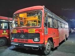 Nagpur - Nanded (yogeshyp) Tags: msrtc maharashtrastatetransport msrtcparivartanbus nagpurnandedstbus