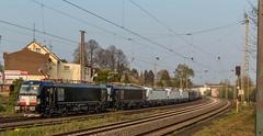 2017_04_08_Schwerte_Westhofen_6193 650_6193 649_Dispo 3x .... ... SIEAG_6193 653_6193 652_DISPO_RADVE_75 80 90 94 008-4 DMZ_75 80 90 94 008-4_DMZ_03 (ruhrpott.sprinter) Tags: ruhrpott sprinter deutschland germany nrw ruhrgebiet gelsenkirchen lokomotive locomotives eisenbahn railroad zug train rail reisezug passenger güter cargo freight fret unna schwerte westhofen vectron dispo mrcedispolok radve dmz outdoor logo natur